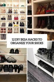 Closet Storage Walmart Shoe Rack 50 Pair Shoe Cubby Ikea Shoe
