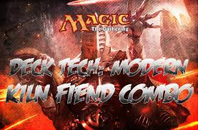 kiln fiend infect deck magic the gathering deck tech modern kiln fiend combo