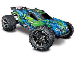 Rustler 4X4 VXL Brushless RTR 1/10 4WD Stadium Truck (Green) By ...