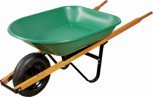 Mintcraft WB4SLS Wheelbarrow - 4 Cubic Foot