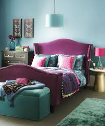 Cosy Bedroom With Jewel Tones And Rich Textiles