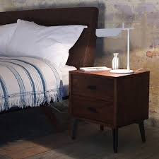 10 easy pieces modern wood bedside tables remodelista