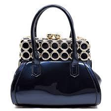 dorcia l8748 blue handbags fashion world