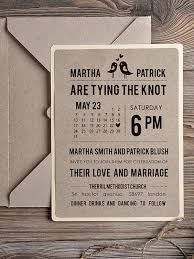 Rustic Recycled Ticket Wedding Invitation Just The Kraft Invite Admission Destination ONE SAMPLE