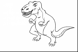 Terrific Printable Dinosaur Coloring Pages With