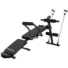 Sit Up Abdominal Bench Adjustable Press Weight Gym Pearson Lab Bench 6