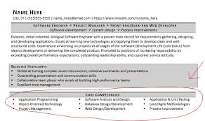 Listing Core Competencies On A Resume Examples Included Zipjob For Rh Gogood Me Customer Service