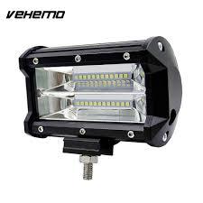 vehemo 5 inches 72w led worklight driving light bulb car truck