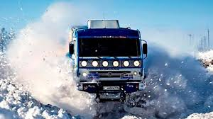 Extreme Off Road Snow Trucks | Crazy People Driving Trucks In Snow ...