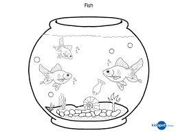 Fish Bowl Coloring Pages 17 Clever XpioKL6cE