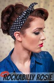 Rosie The Riveter Spirit Halloween by The Freckled Fox Sweetheart Hair Week Tutorial 3 Rockabilly Rosie