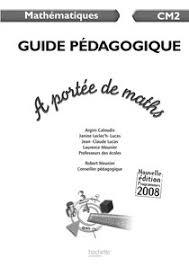 a portee de maths hachette cm2 2008 francês 37