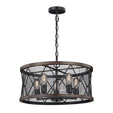 patriot lighting皰 home bodhi 20 black and replica wood 5