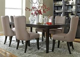 Liberty Dining Room Furniture Platinum 7 Piece Set In Satin Espresso Finish By Chairs