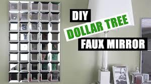 diy dollar tree glam faux mirror wall easy z gallerie