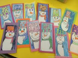 049a38dab972bfbf6be6ef92b53e56ed Winter Art Kindergarten Lessons