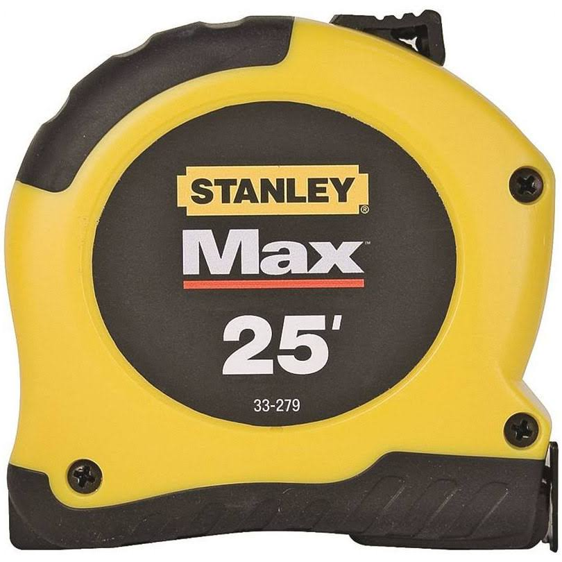 Stanley Max Tape Measure - 25""