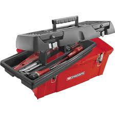 Tool Box (empty) Facom BP.C24 Plastic Red, Black From Conrad ...