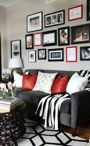 Red And Black Living Room Decorating Ideas by Gray White Red Black Color Palette Gray Cachedblack White