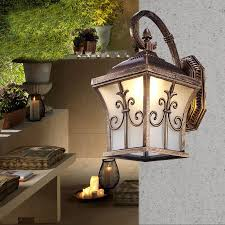 solar power led porch lights outdoor sconces wall outdoor lights