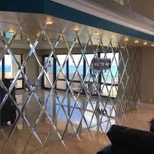 luxus abgeschrägte spiegel fliesen dekoration spiegel für