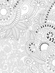 Floral Free Printable Coloring Pages For Adults Web