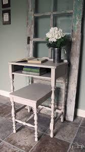 Abandoned Farmhouse Writing Desk DIY Furniturepaint Paintedfurniture Homedecor Chalkpaint Crackle