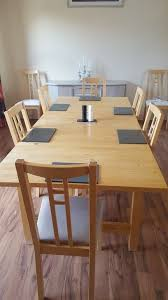 Large Dining Room Table With Eight Chairs