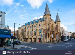 100 Westbourne Grove Church Notting Hill London Stock Photo