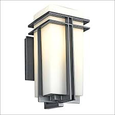 exterior wall mount light fixtures square turn outdoor wall sconce