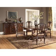 North Shore Round Pedestal Dining Table Ashley Collection