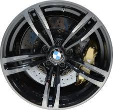 ALY U45 BMW M2 M3 M4 Wheel Black Machined