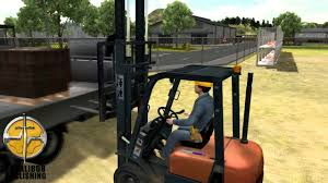 100 Forklift Truck Simulator Construction Official Trailer YouTube