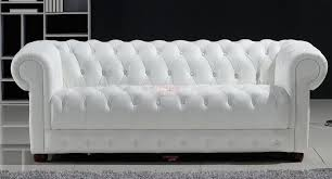 canapé chesterfield cuir blanc recherche meubles design