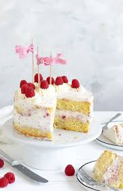 biskuit torte mit mascarpone himbeer creme meine
