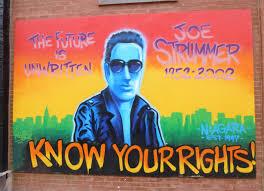 joe strummer memorial mural recreated in east village nyc the