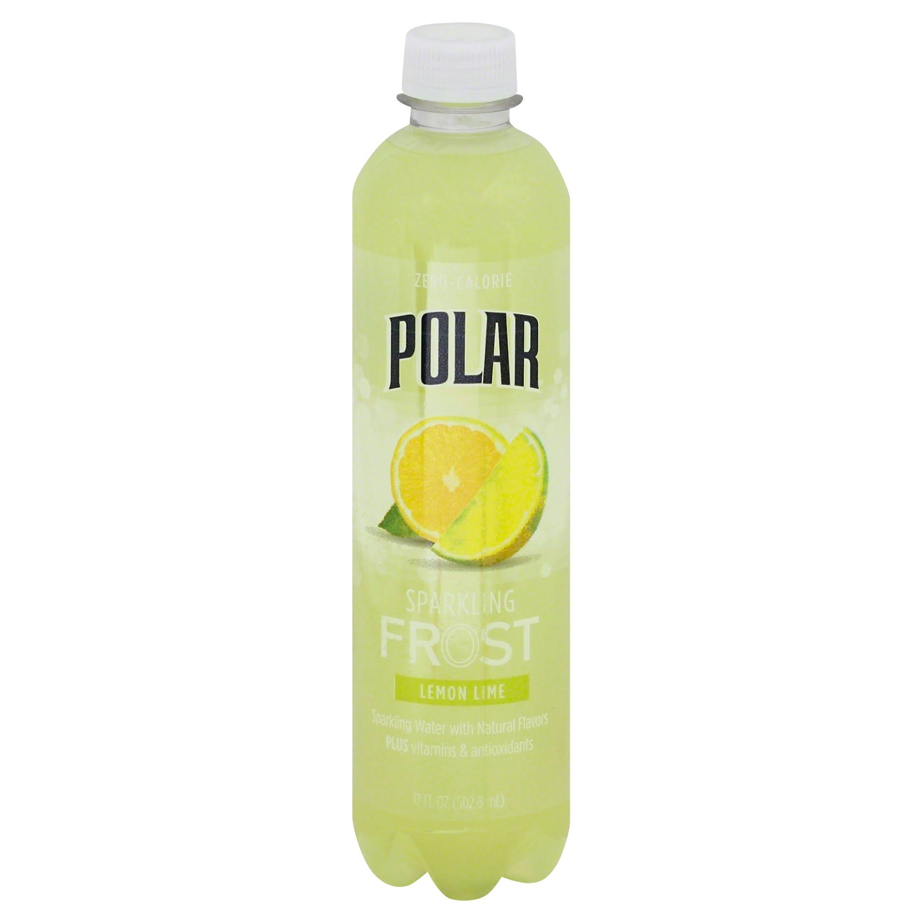 Polar Sparkling Frost Drink - Lemon Lime, 17oz