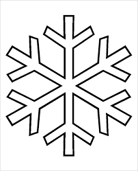 Printable Snowflake Coloring Pages Ideas