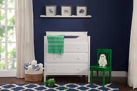 Davinci Kalani Combo Dresser Ebony by Jayden 3 Drawer Changer Dresser Davinci Baby