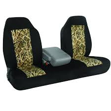 Hatchie Semi-Custom Fit Neoprene Bench/Bucket Seat Cover Mossy Oak ...
