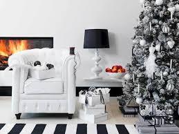 weihnachtsbaum in schwarz weiß schmücken mal anders otto