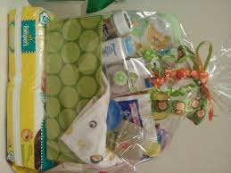 Sightly Baby Shower Basket Gift