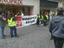 groupe monoprix siege social grève à monoprix rouen gauche révolutionnaire