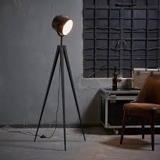 Target Floor Lamp Assembly Instructions by Versanora Artiste Tripod Floor Lamp With Shade Black U0026 Gold