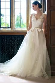 Rustic Lace Wedding Dress With Sash