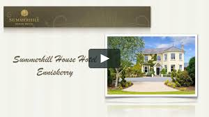 100 Summer Hill House Hill Hotel Enniskerry Media Concepts