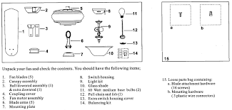 Ceiling Fan Balancing Kit Instructions by Kemper Collection