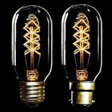 5w gold antique vintage filament light bulb l pear shape