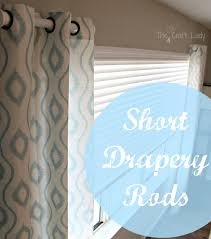 Curtain Rod Extender Diy by 12 Inch Curtain Rods