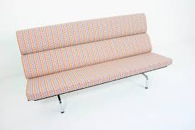charles and ray eames sofa compact with alexander girard arabesque